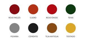 colores de resinas