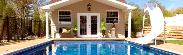 hormigón para piscina