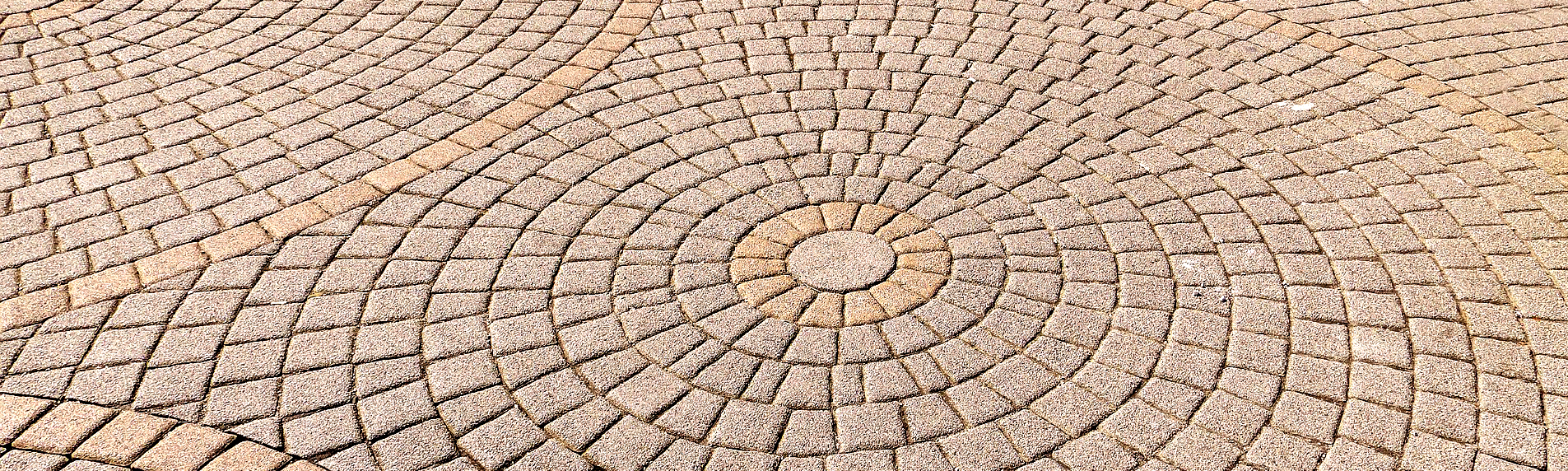 hormigón en círculo